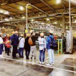 製材工場,協和木材㈱,見学