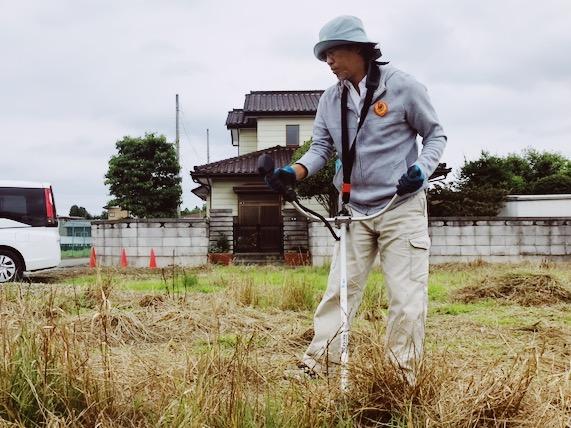整地,草刈り,地鎮祭
