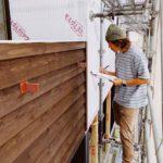 外部の防水工事を確認