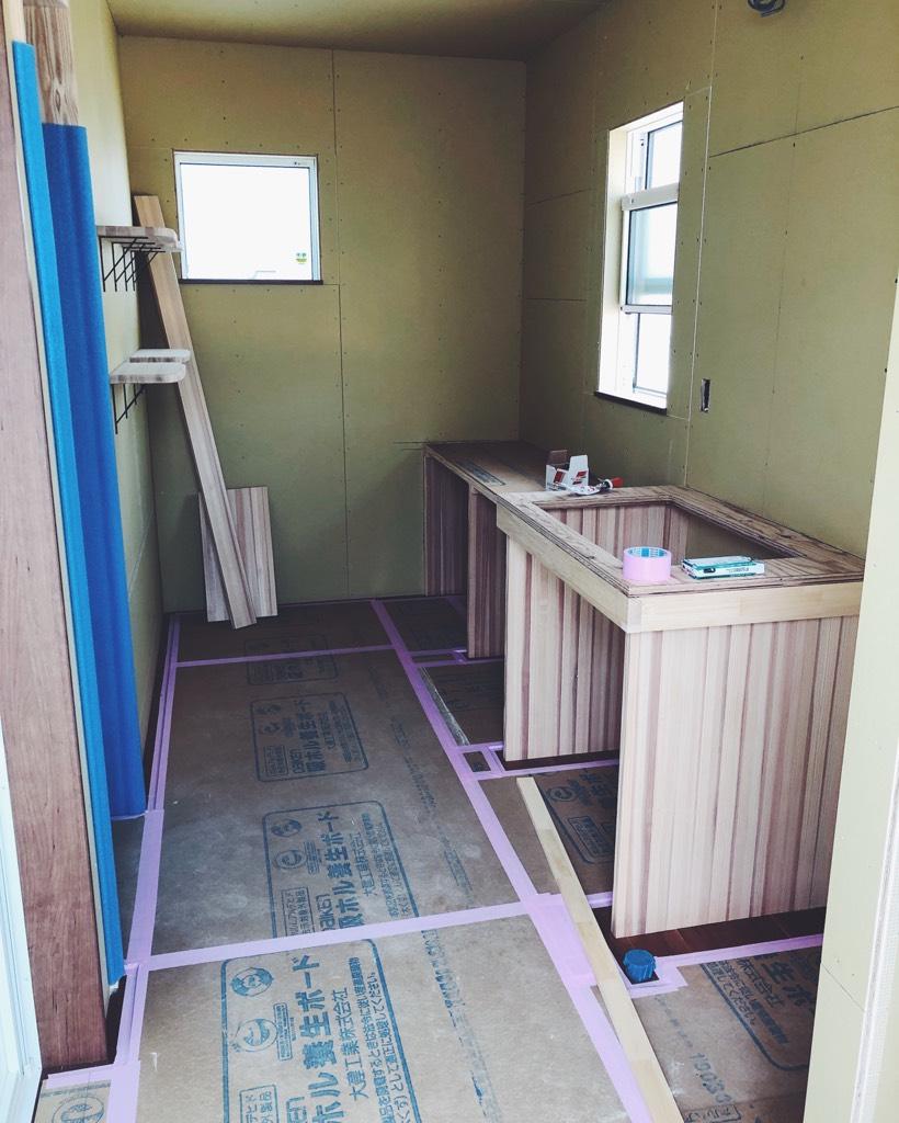 2階の脱衣室