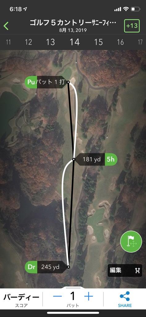 ドライバーの飛距離