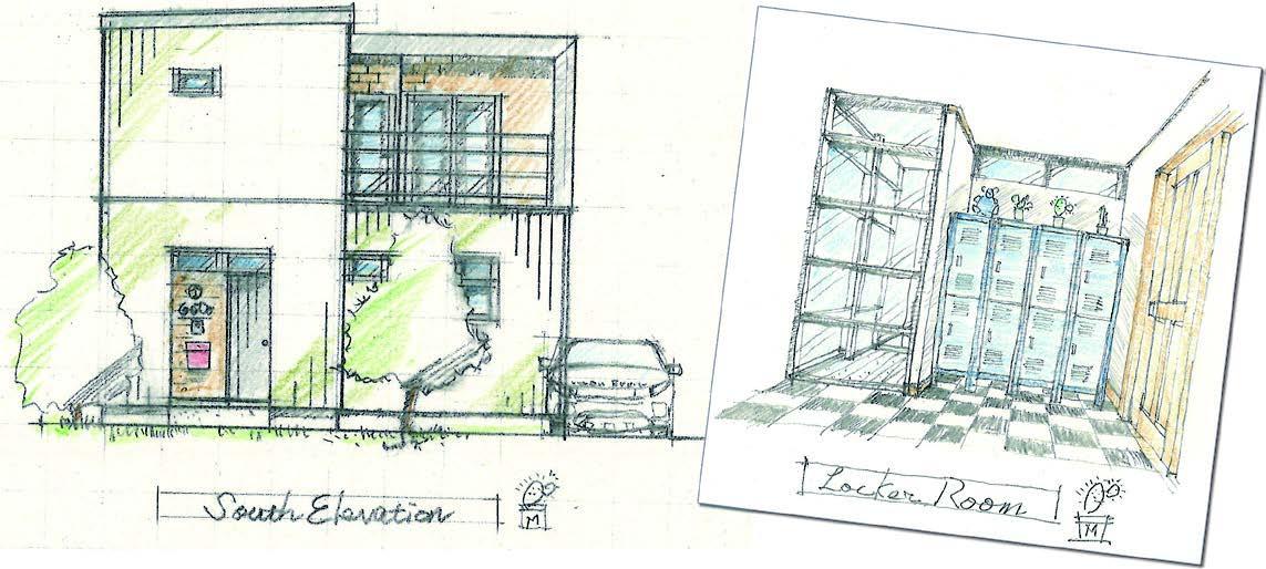 水戸市で注文住宅を建てるシリーズデザイン画