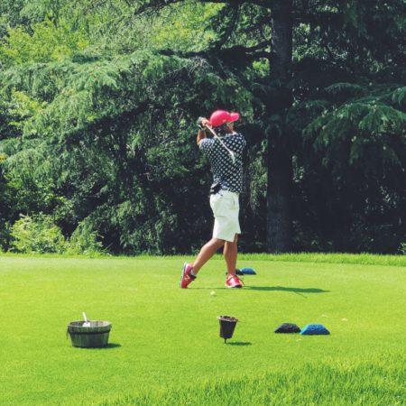 お盆休みのゴルフ