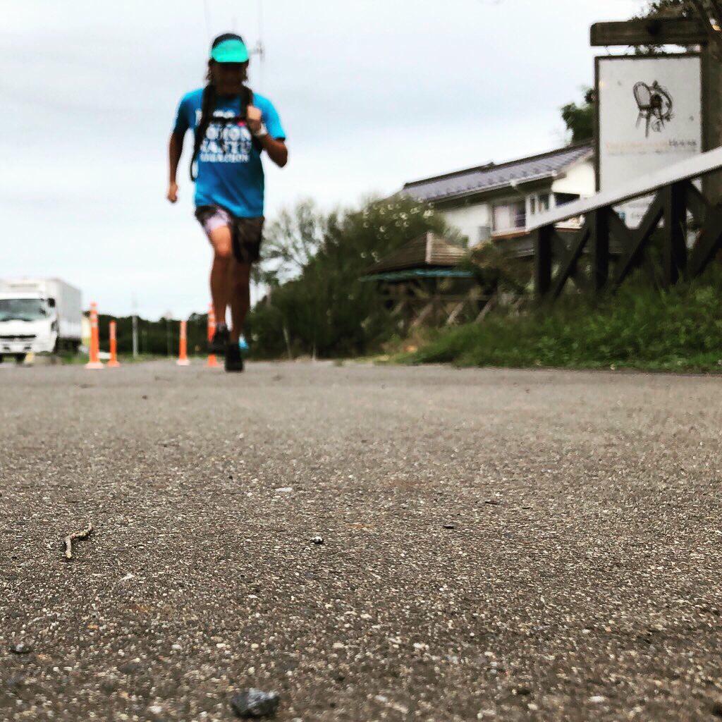 水戸黄門漫遊マラソンの練習