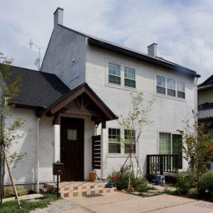 日本で建てた西洋風のおしゃれなお家♪茨城のブリティッシュ注文住宅実例
