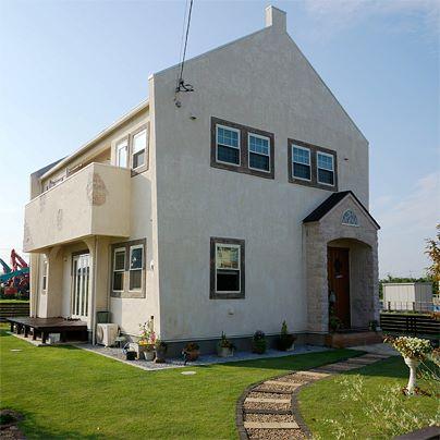 イギリス風かわいい家