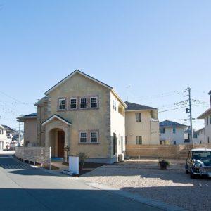 自然素材好きなカントリー夫婦の家(水戸市T様邸)